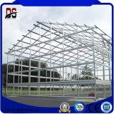 큰 경간 차고 (Q235)를 위한 아름다운 가벼운 디자인 구조
