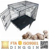 Grande cassa dell'animale domestico del cane di quantità con il cassetto dell'ABS