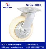 Hochleistungsqualitäts-Nylonschwenker-Oberseite-Platten-Fußrolle
