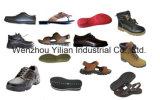 De Gietende Machine van het Type Pu van Transportband van de lage Druk voor Enig /Shoe/Sandal/Slipper