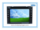 Universal Two-DIN Car DVD Player com tela de 6,2 polegadas