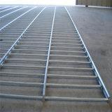 Rete metallica saldata galvanizzata elettrica prima della saldatura