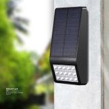 Outdoor mur solaire lampe LED étanche 16 Capteur de mouvement Mur lumière solaire pour le jardin