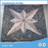 星様式の大理石のモザイク模様