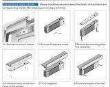 280kg Zl Bracekt/parentesi del metallo per il portello di vetro, elettro parentesi magnetica della serratura di portello