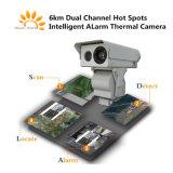 Dubbel - Thermische Camera van het Alarm van de Hete Vlekken van het kanaal de Intelligente