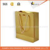 Подгонянный роскошный бумажный мешок подарка для ювелирных изделий