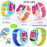 Neue Kinder GPS-Verfolger-Uhr mit Kamera und Taschenlampe D12
