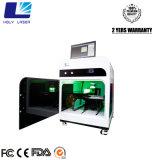 Раздатчики хотели машину принтера гравировального станка 3D кристаллический лазера 3D для дела дома