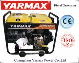 Yarmax resfriado a ar único cilindro motor diesel do gerador diesel de estrutura aberta Definir Grupo Gerador Ym6500ea