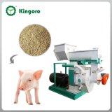 반지는 판매를 위한 동물 먹이 펠릿 기계를 정지한다