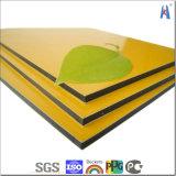 Buena calidad después del panel compuesto de aluminio del revestimiento de aluminio de Serivice