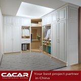 Шкаф способа самомоднейший просто для спальни с дверью PVC
