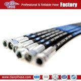 La marque SAE100 R2at de Tianyi lissent le boyau en caoutchouc hydraulique