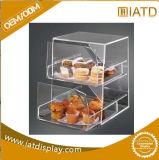 De Duidelijke AcrylDoos van uitstekende kwaliteit van de Vertoning voor de Snack van het Suikergoed van de Winkel