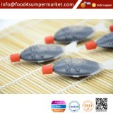 Pacote plástico 2.6ml forma de peixe Sushi molho de soja