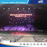 Parete dell'interno di P3.84mm RGB LED video riparata sulla parete nel centro commerciale manifatturiero