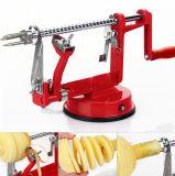 기계/스테인리스 Apple 과일 도박기 거피된 공구 창조적인 가정 부엌 Apple 1개의 저미는 Peeler 과일 Peeler에 대하여 3