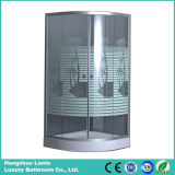 La impresión de coco baratos Receptáculo de ducha de vidrio templado desde Hangzhou Fabricación (LTS-825)