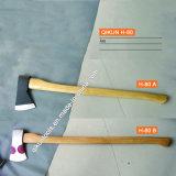 La mano del hardware della costruzione H-73 lavora l'ascia della maniglia ricoperta plastica mezza A613