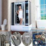 ファブリック緩和されたガラスの容易できれいな蒸気のシャワーの小屋部屋(BZ-820)