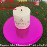 4mm Round Rose Bevel Glass Candle Holder