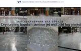 Fontana corrente asciutta 2013, getto laminare e progetto della fontana della nebbia fredda a Hangzhou