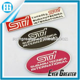 Best Price Custom Adhesive Aluminium Badge Factory directement