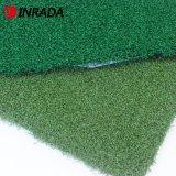 草の山の高さ15mmを置いている最も安い人工的な草か泥炭25のステッチのGolf&Sportsの芝生