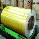 Ideabond coloré pour le plafond de la construction de la bobine en aluminium