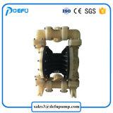 Pp.-materielles flüssiges Übergangsgummiluft-Doppelt-Membranpumpe für Essig