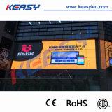 Installazione fissa esterna P10 che fa pubblicità alla visualizzazione di LED