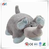 열매가 많은 채워진 코끼리 베개 견면 벨벳 애완 동물