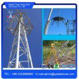 Types van Communicatie van de Mast van de Kerel de Driehoekige RadioToren van het Staal