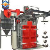 ガスLPGシリンダー表面のクリーニングのショットブラスト機械