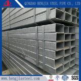 Specifica d'acciaio pre galvanizzata rettangolare del tubo di figura