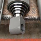 Tubo telescópico de aço inoxidável de Ação Única da Haste do Pistão do Cilindro do Óleo Hidráulico para o caminhão basculante com a ISO