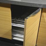 Высокая лоснистая мебель кухни (K-007)