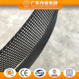 Ventana de cristal de aluminio de desplazamiento del perfil del grado superior hecha en la fábrica de Dali