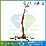levage articulant remorquable électrique 16m hydraulique de boum de 14m petit