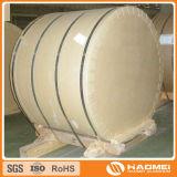 Bobina di alluminio del rivestimento della pellicola del PVC