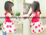 Vestir de los niños de la alineada de las muchachas cortas hechas gasa de la funda