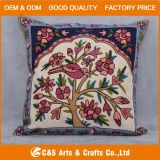 Custom Special Embroidery Decorative Fabric Cushion for Home Textile