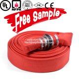 Conduite d'eau de boyau flexible d'arroseuse d'incendie de toile de tissu