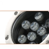 3W 6W 9W 12W de alta potencia 18W Underlight Epistar LED Lámpara LED impermeable
