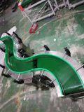 Nastro trasportatore del PVC con il muro laterale ondulato/nastro trasportatore flangiato ondulato