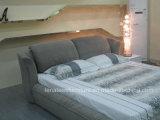 Удобная кровать ткани конструкции Headboard B936