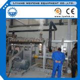 対ねじ湿り蒸気の魚の飼料工場の押出機、かさ張る機械