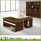 Mesa executiva risco de madeira do escritório da mobília do anti com ficheiro
