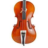 Professionelle natürliche Flamme-handgemachtes Cello hergestellt in China